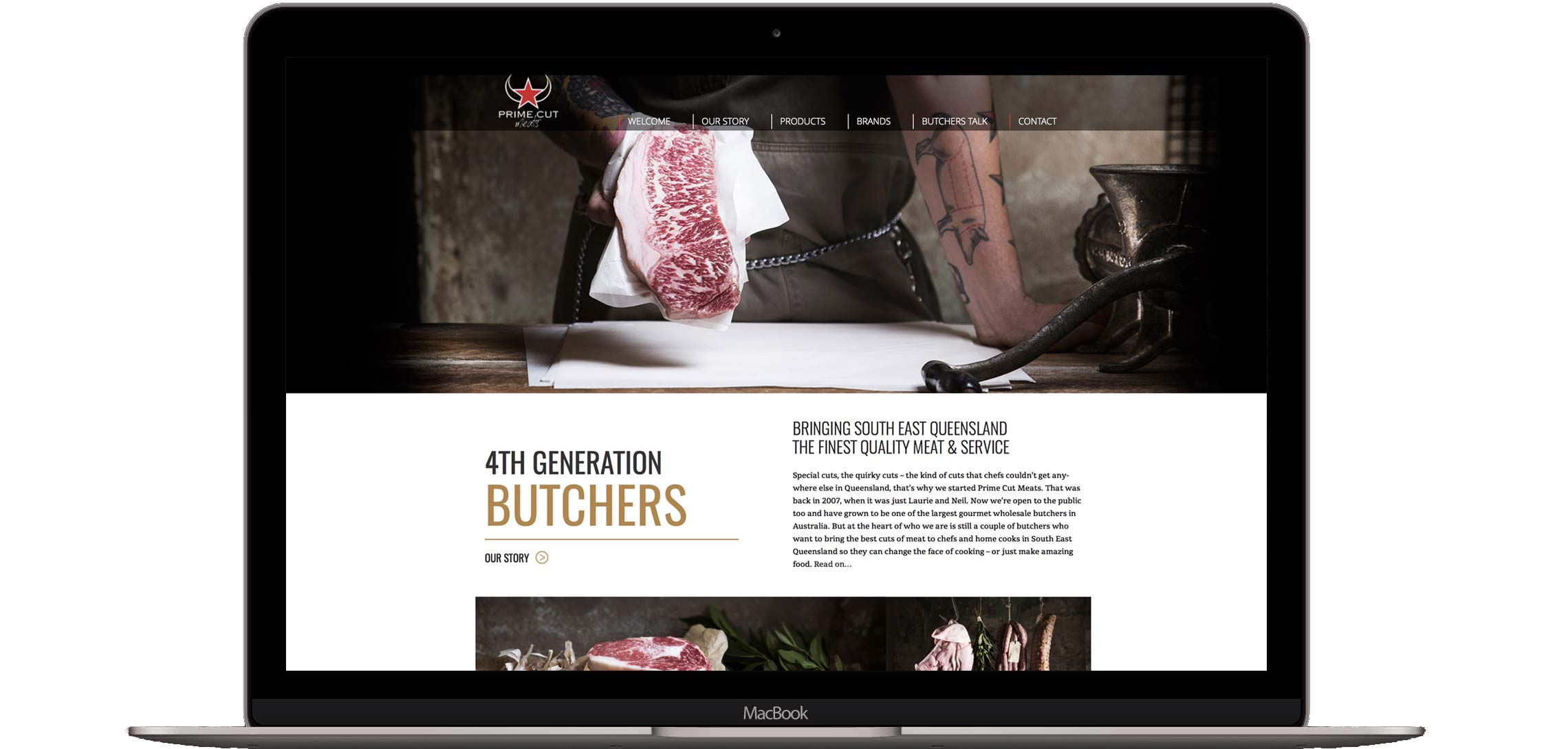 Prime Cut Meats Website